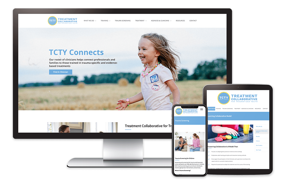 Onsharp TCTY Website Redesign Project